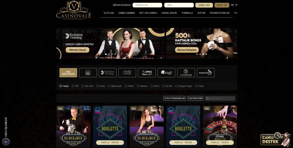 Casinovale Casino